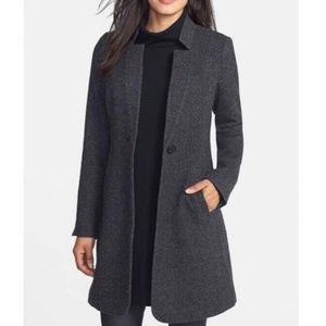 Eileen Fisher Project Gray Alpaca Coat XL